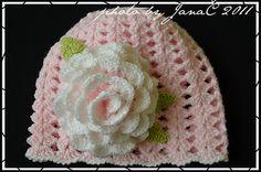 ...blog bez mena...: č.1 Hačkovaná čiapka...