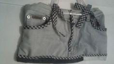 Como hacer un bolso con un pantalón de jean - Red Social Claseclub.com