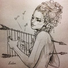 Bocetos y corazones rotos by Chiara Bautista