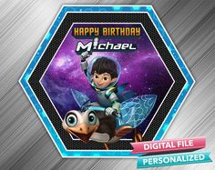 Miles From Tomorrowland Birthday Sign by kidspartydiy on Etsy