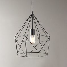 Check out Young House Love Geometric Diamond Lantern from Shades of Light