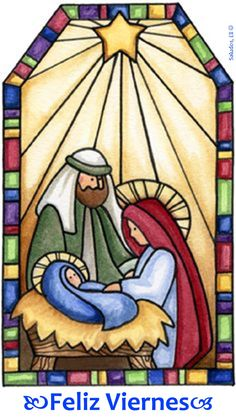 Stained glass and mosaic courses in Sheffield: April 2011 'Sunrise . Christmas Graphics, Christmas Clipart, Christmas Images, Christmas Printables, Christmas Projects, Christmas Rock, Christmas Nativity Scene, Xmas, Nativity Scenes