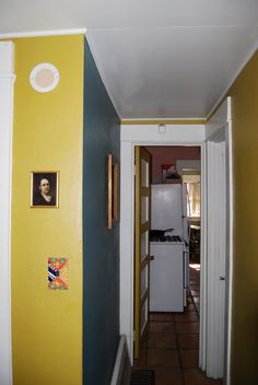 Love my colorful tiny Hallway!