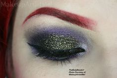 """""""Dark Jewel"""" by #model and #makeupartist #redznowhite aka #makeupartistme #lotd #motd wearing Blackened Violet, Steal the Night, High Kick and Love Song #vegan #crueltyfree #mineral #leadfree #eyeshadow Illusion #blush Kiss Me Softly #lipluster and Black Gold #eyesafe #glitter from www.TheBodyneeds2.com"""