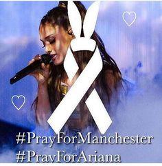 "Polubienia: 60, komentarze: 3 – Ariana Grande (@arianagrande_photos__) na Instagramie: ""#prayformanchester 💔 We love you Ari,It's not your fault😢"""