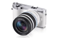 Samsung CMOS Smart WiFi Mirrorless Digital Camera with Lens and 33 AMOLED Touch Screen White >>> Check out the image by visiting the link. Wi Fi, Best Cameras For Travel, 3d Cinema, Smartphone, Full Hd 1080p, Usb, Camera Reviews, Camera Gear, Dslr Cameras
