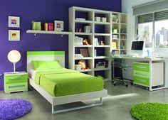 Dormitorios juveniles, infantiles y bebés. Abatibles. ElMenut