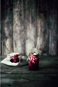 pie in a jar.