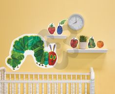 Eric Carle's Very Hungry Caterpillar (TM) - Small - Alphabet & Numbers Peel & Place | Oopsy daisy