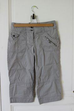 Pantacourt gris t34 dans Short / vêtements / mode