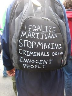 Legalize marijuana stop making criminals out of innocent people.http://buff.ly/2we1XO1  #Marijuana #Cannabis #Proposition64