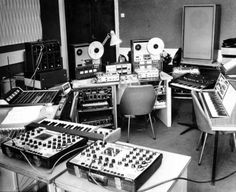 Electro-Acoustic Music Studio at the Krakow Academy of Music. 1973.