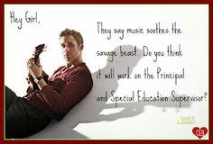 Special Needs Ryan Gosling Week 12