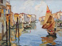 Venice in Rudolf Negely's Art