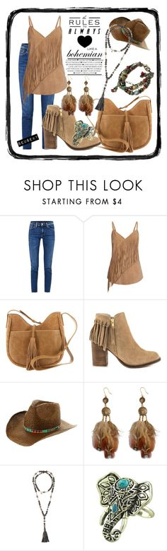 """""""UNTITLED"""" by seus-eky ❤ liked on Polyvore featuring Acne Studios, Gestuz, Lucky Brand, ALDO, Roxy and Hipchik"""