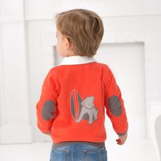 Knitted Button Down Cardigan - Sweaters and  Cardigans - Baby boys | Dave Bella Kids Clothes www.davebella.co.uk