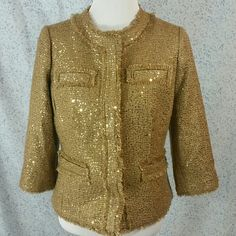 Chico's Jacket GORGEOUS!  Sizing is missing, but this is a medium to large. Chico's Jackets & Coats Blazers