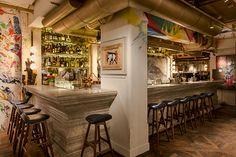 Bibo french restaurant HK HONG KONG: Street Art Meets Fine Dining at Cool New Restaurant Bibo