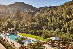 Vineyard View, Calistoga Ranch, Napa, California