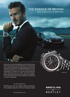 Breitling for Bentley ~ european swagger