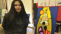 #CANADA #SWD #GREEN2STAY 'I like living': Young Indigenous artists heal pain through painting  Students at Dennis Franklin Cromarty First Nations school learn from Woodland artist Saul Williams  By Jody Porter, CBC News  Posted: Feb 18, 2017 8:00 AM ET| Last Updated: Feb 18, 2017 8:00 AM ET