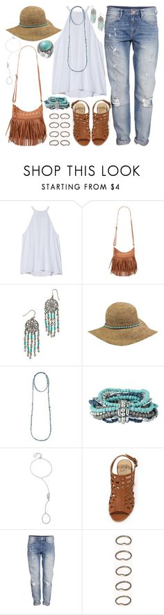 """""""474. Me & You"""" by adc421 ❤ liked on Polyvore featuring A.L.C., Aéropostale, Lucky Brand, Bettina Duncan, La Preciosa, H&M, Forever 21, women's clothing, women and female"""