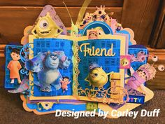 Monsters inc Disney Monsters, Monsters Inc, Disney Cards, Create And Craft, The Duff, Special Day, Card Ideas, Card Making, Lace