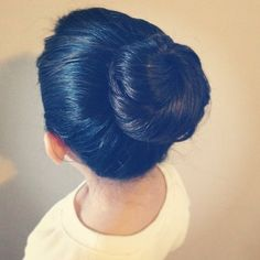 Ballerina Bun: She doesn't have to be a dancer to rock this classic, chic look.    Source: Instagram user Amberjanielle