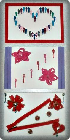 zipper, craft idea, handmade, DIY, decoration