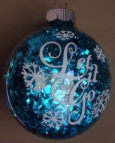 Fill clear ornament with shiny confetti? Frozen Inspired Elsa Anna Olaf Christmas by MelissasHomeDecor Frozen Christmas Tree, Christmas Makes, Disney Christmas, Christmas 2014, Christmas Baubles, Homemade Christmas, Xmas Tree, Winter Christmas, Frozen Ornaments