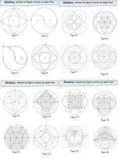 """Pas facile de trouver de quoi occuper """"intelligemment"""" les élèves quand on gère un double niveau (ou pas !). Je trouve que les activités géométriques de reproduction se prêtent bien ce genre de sit..."""