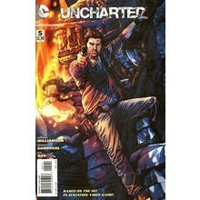 Uncharted #3. DC May 2012. 1st Print. Playstation. Williamson, Sandoval. NM