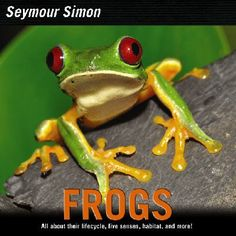 Details the life cycles of frogs and toads while introducing different species that can be found around the world.
