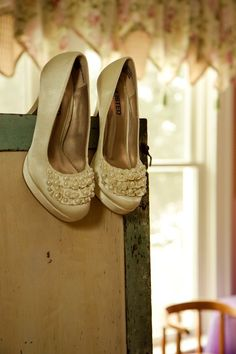 Lexilu Photography. My sisters wedding shoes
