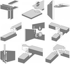 50 Digital Wood Joints Montage