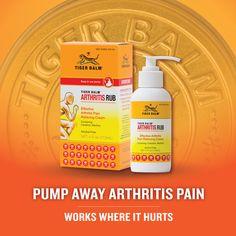 Find Tiger Balm #Arthritis Rub at @VitaminShoppe and other fine retailers.  #ArthritisAwarenessMonth