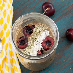 This overnight oats recipe will not only fill you up, it will help wake you up as well! No cooking required!