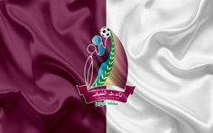 Download wallpapers Al-Shabab Club, 4k, Bahrain football club, emblem, logo, silk flag, Bahraini Premier League, Jidhafs, Bahrain, football, Bahrain football championship