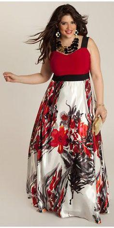 Women Floral Print Dress, Plus Size Dress, Sleeveless Maxi Dress Size Plus Size Formal Dresses, Dress Plus Size, Plus Size Outfits, Long Dresses, Dress Formal, Sleeveless Dresses, Dresses Dresses, Floral Dresses, Cheap Dresses