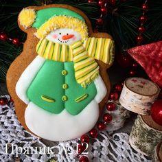 Пряник №12. Вот такой тёплый снеговик! Цветовая гамма на ваш выбор! Размер 11 см, цена 150₽ #подарокнановыйгод #имбирныепряники #новогодниепряникикраснодар #новогодниепряники #новогодниепряникикраснодар #снеговик #краснодар