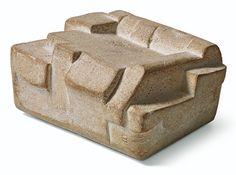Eduardo Chillida - Lurra G-307, 1994, Terracotta