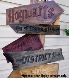 Hey, I found this really awesome Etsy listing at https://www.etsy.com/listing/163248693/signs-only-no-post-fictional-places-sign