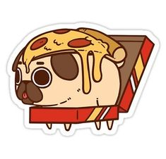 """""""Pizza Pug"""" by SeriouslySilly 