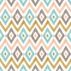 Sketchy Diamond IKAT Art Print by Patty Sloniger | Society6