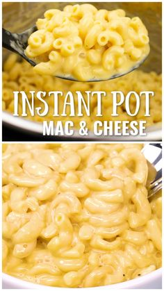 Free up precious oven space on Thanksgiving and make your Mac and cheese in the INSTANT POT! This recipe is so good, super easy, and sooo creamy! pot recipes videos Instant Pot Mac and Cheese Instant Pot Mac And Cheese Recipe, Best Instant Pot Recipe, Instant Pot Dinner Recipes, Easy Dinner Recipes, Easy Meals, Gluten Free Mac And Cheese, Mac Cheese Recipes, Mc N Cheese, Deserts