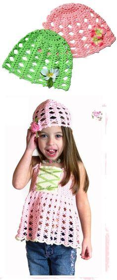 5 Beautiful Vintage Crochet  Patterns Vintage Rose – Crochet Cap Pattern for Kids & Women