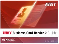 Abbyy business card reader 20 light 110104181 abbyy business abbyy business card reader 20 light 110104181 abbyy business card reader 20 for windows automatically digitizes paper business cards data a reheart Image collections