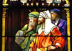Richmond, Indiana   At First Presbyterian  , a Renaissance-style window created by Tiffany Studios uses deep, rich colors to depict the risen Christ with Mary. Pause to feel the emotion in the piece, then stroll through the historic sanctuary, constructed in 1866.