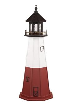 Bring the feeling of the Lake Erie waters to your dock with this replica lighthouse from Vermillion, OH!
