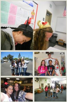 My ASB Spirit week in High school! Disney Day and Tourist Day